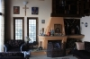 Вилла с собственным пляжем Греция гора Пилеон залив Волос Зал Каминный зал, раритетная мебель.
