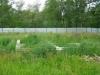 Земельный участок в Матвеевке новый коттеджный городок Фундамент будущего дома Участок можно увеличить.Проект дома готов