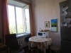Однокомнатная квартира на Комсомольский проспект  окно кухни