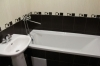 Однокомнатная квартира студия с ремонтом  на Виктора Уса Ванная  Современный дизайн