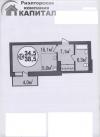 Однокомнатная квартира в Покровском жилом комплексе от подрядчика на Дуси Коваль