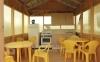 Дом для отдыха и проживания у залива Летняя кухня