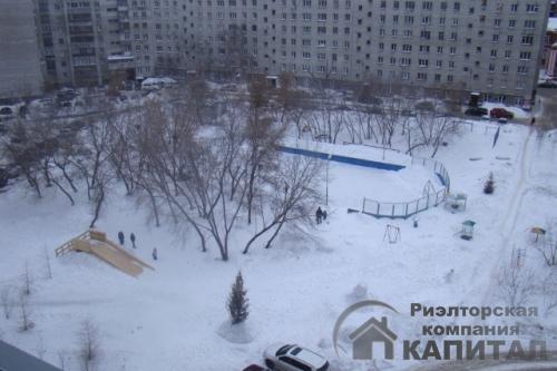 Трехкомнатная квартира элитная на Серебренниковской Вид из окна