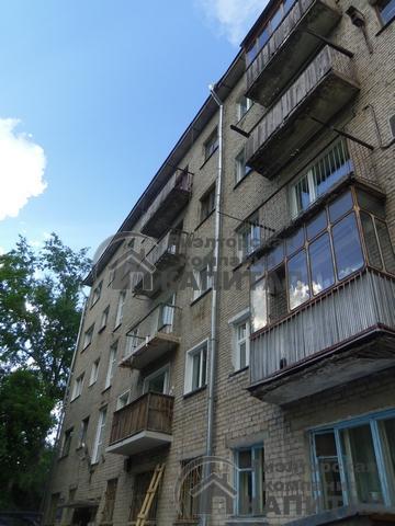 Однокомнатная квартира на проспекте  Карла Маркса Фасад