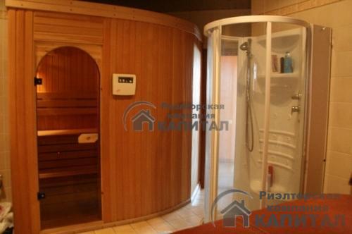 Черехкомнатная квартира на Серебренниковской Сауна с душевой кабиной