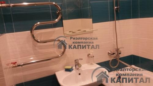 Однокомнатная квартира на Петухова Ванная комната совмещенная с санузлом