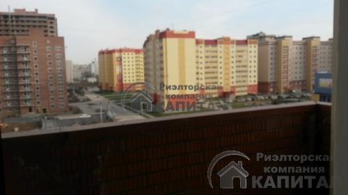Однокомнатная квартира на Петухова Вид с лоджии