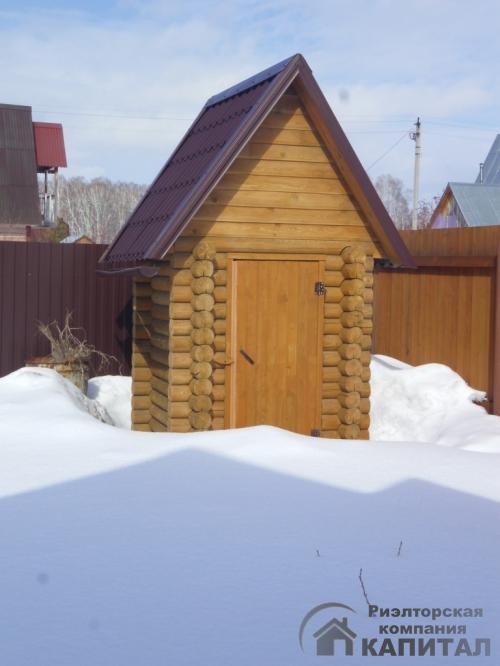 Дом новый для зимнего проживания  СНТ Синегорье Есть туалет на улице