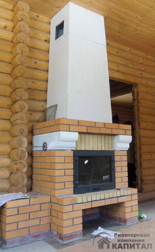 Дом новый для зимнего проживания  СНТ Синегорье Действующий камин