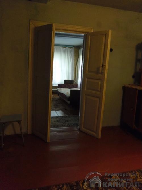 Двухэтажный дом из бревна в центре Колывани кухня на втором этаже